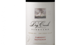 Dry Creek Vineyard 2011 Cabernet Sauvignon Label