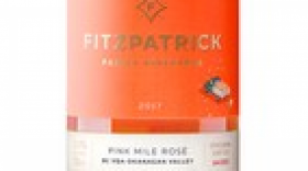 Fitzpatrick Family Vineyards 2017 Pink Mile Rosé Label
