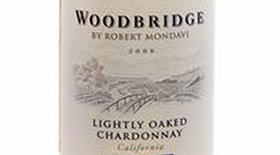 Woodbridge Lightly Oaked Label