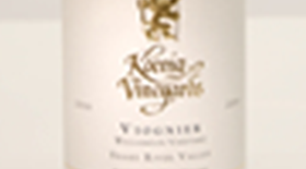 Koenig Distillery and Winery 2012 Viognier Label