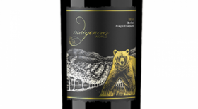 Indigenous World Winery 2014 Merlot Label