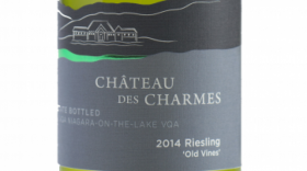 Chateau Des Charmes 2014 Old Vines  Riesling Label