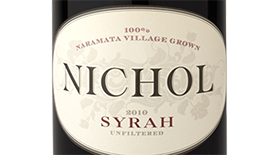 Nate's Vineyard Label
