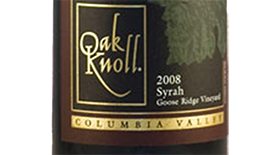 Syrah Columbia Valley Label