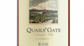Quails' Gate Winery 2014 Gamay Noir blend Label