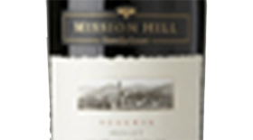 Mission Hill Reserve 2012 Merlot Label