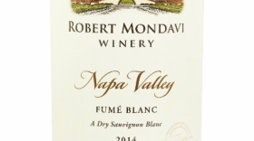 Robert Mondavi Winery Fumé Blanc 2014 Napa Valley Label