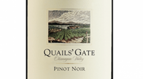 Quails' Gate Winery 2010 Pinot Noir | Red Wine