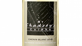 By Chadsey's Cairns Winery and Vineyard 2014 Chenin Blanc Label