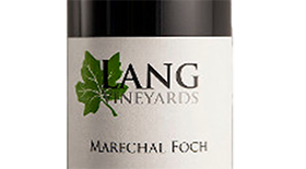 Lang Vineyards 2013 Marechal Foch Label