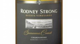 Rodney Strong Vineyards Sonoma Coast Estate 2014 Chardonnay Label
