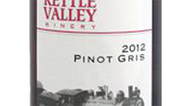 Kettle Valley Winery 2012 Pinot Gris (Grigio) Label