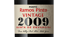 Ramos Pinot 2009 Terrior Platinum Single Quinta Vintage Label