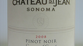 Chateau St Jean 2008 Pinot Noir | Red Wine