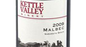 Kettle Valley Winery 2010 Malbec Label