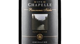 Ste. Chapelle Panoramic Label