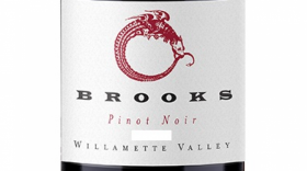 Brooks 2012 Pinot Noir Label