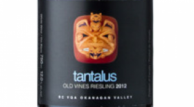 Tantalus 2012 Old Vines Riesling Label