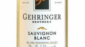 Gehringer Brothers 2017 Sauvignon Blanc Dry Rock Vineyards Label