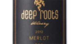 Deep Roots 2012 Merlot Label
