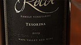 Rocca Family Vineyards Tesorina Label