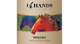 14 Hands Winery 2011 Riesling Label