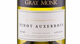 Gray Monk Estate Winery 2016 Pinot Auxerrois Label