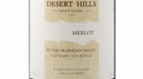 Desert Hills Estate Winery 2014 Merlot Label