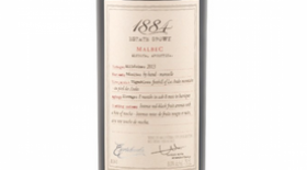 1884 Estate Grown Malbec Label
