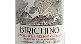 Birichino 2012 Grenache | Red Wine