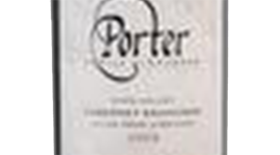 Porter Family Vineyards 2009 Cabernet Sauvignon Label