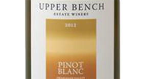 Upper Bench 2012 Pinot Blanc Label