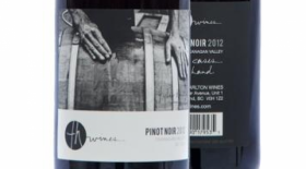 TH Wines 2012 Pinot Noir Label