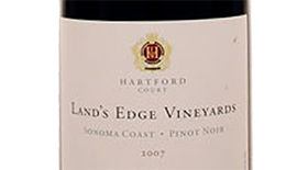 Land's Edge Vineyards 2007 Pinot Noir | Red Wine