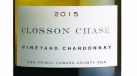 Closson Chase Vineyards 2015 Chardonnay | White Wine