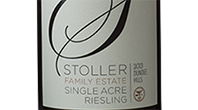 Single Acre Riesling Label