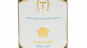 Therapy Vineyards 2017 Riesling Label