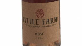 Blind Creek Vineyard 2016 Rosé Label
