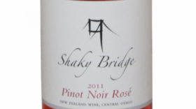 Shaky Bridge Pinot Noir Rosé 2014 Label