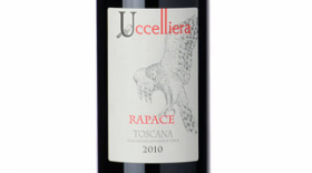 Uccelliera 2015 Rapace Toscana IGT Label