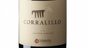 Matetic Vineyards Corralillo Syrah  2013 | Red Wine