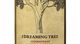 The Dreaming Tree Wines 2012 Chardonnay Label