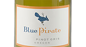 Blue Pirate Pinot Gris Label