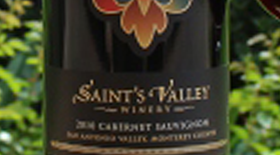 Saint's Valley Cabernet Sauvignon Label