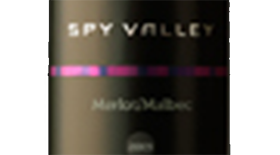 Spy Valley Wines 2012 Merlot Label