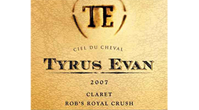 Tyrus Evan Ciel du Cheval - Rob's Royal Crush | Red Wine