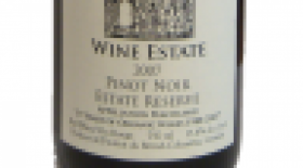 Hainle Vineyards Estate Winery 2007 Pinot Noir Reserve Label