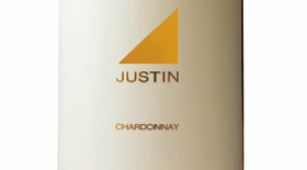 Justin Vineyards & Winery 2014 Chardonnay Label