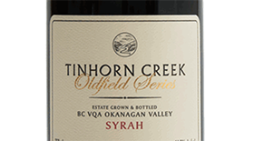 Tinhorn Creek Vineyards 2011 Syrah (Shiraz) Label