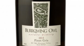 Burrowing Owl Estate Winery 2013 Pinot Gris (Grigio) Label